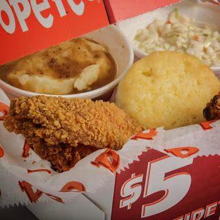 Popeyes Louisiana Kitchen: $5 Bonafide 2-pc Mixed Chicken Box Combo Deal!  #popeyes  http://po.st/Qk2v3z