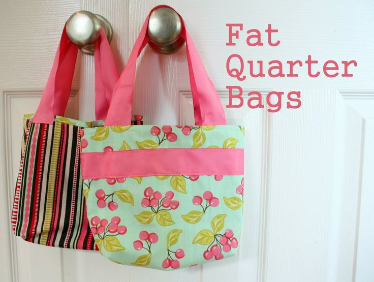 little girl purse patterns   Diary of a Quilter - a quilt blog: Fat Quarter Bag Tutorial