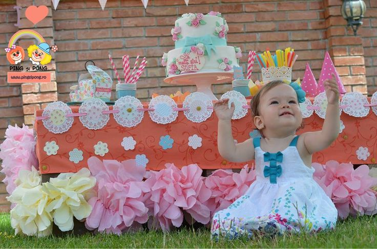 Candy Bar Shabby Chic – Tea Party