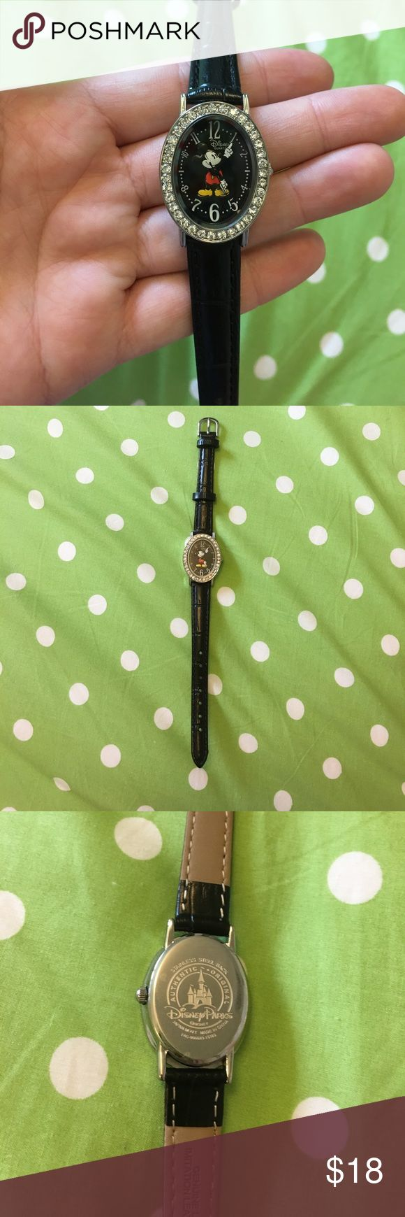 Disney Mickey Mouse Watch EUC. Worn a few times. Disney Accessories Watches