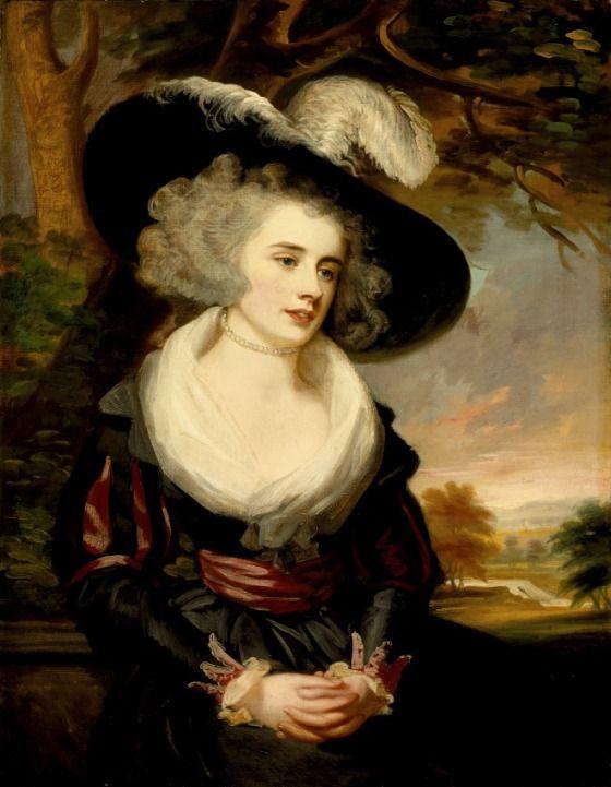 Portrait of Mrs. Smith Barwell, née Unwin Thomas James Northcote (England, London, 1746-1831)