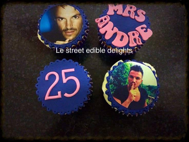 Peter Andre cupcakes