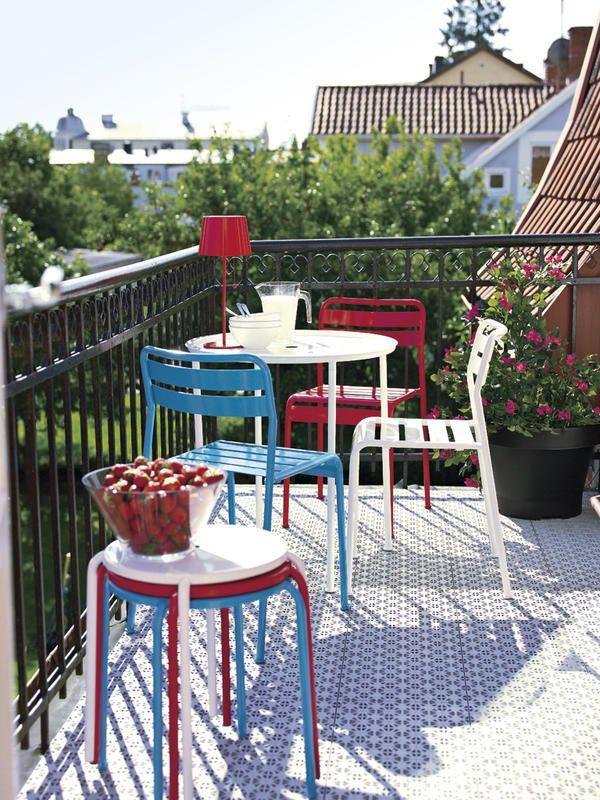 #Muebles e exterior para #balcones y terrazas mini