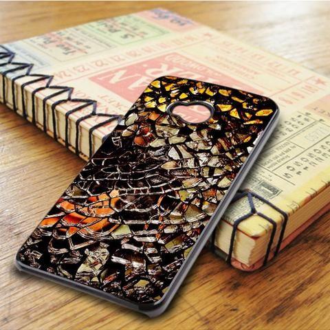 Shattered Mirror HTC One M7 Case
