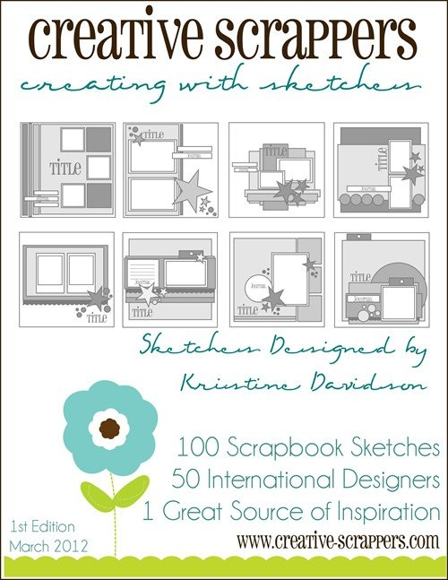 Creating with Sketches / eBook  by Kristine Davisdson   Creative Scrappers