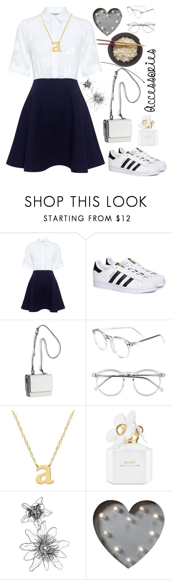 """""""I'm."""" by ali-0 ❤ liked on Polyvore featuring Paul & Joe Sister, adidas, Kendall + Kylie, Wildfox, Jane Basch, Marc Jacobs and Creative Co-op"""