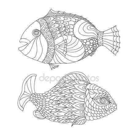 Скачать - Эскиз морской жизни элементов. Рисованной каракулей — стоковая иллюстрация #134601838