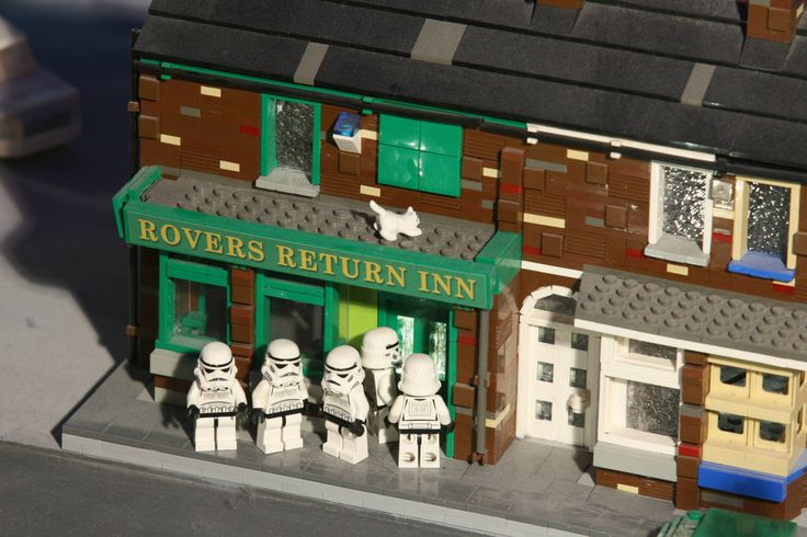 Coronation Street Blog: See Lego Stormtroopers at the Rovers Return