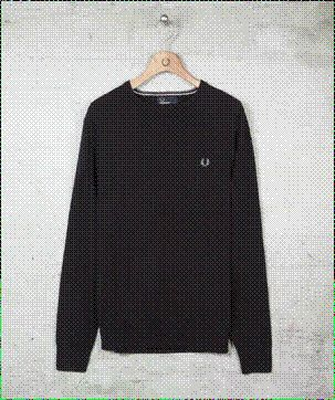 Fred Perry Crew New Sweater  A Classic.   One Rebellion Clothing Company