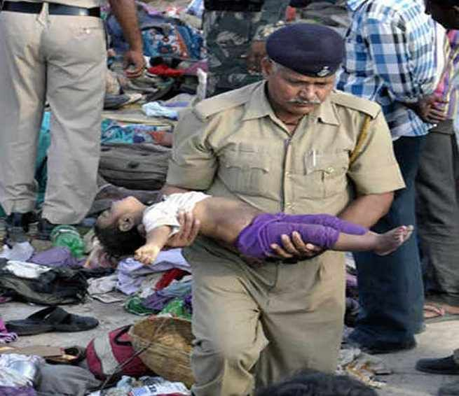 Ratangarh stampede tragedy: 'Policemen removed gold ornaments and threw bodies in the river'. Find all Latest Breaking News, Online News, astrology news in English, Latest Hollywood movies, latest Bollywood movies, Cricket Interesting Stories, Sports News Headlines, Bollywood Masala in English only on http://daily.bhaskar.com/national/