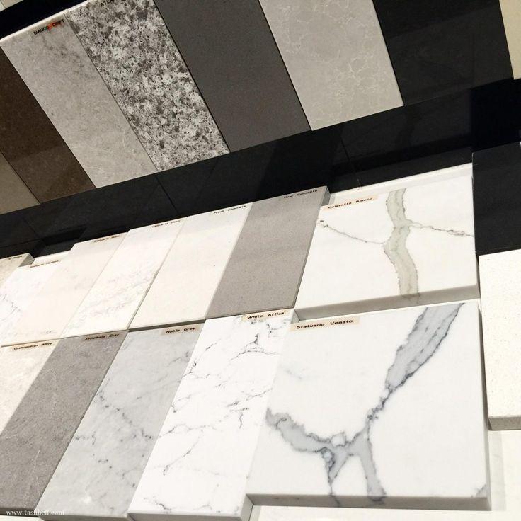 renovation update 10 - caesarstone, stone bench, essastone