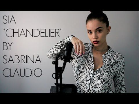 Sia- Chandelier (cover) by Sabrina Claudio | Music Everything ...
