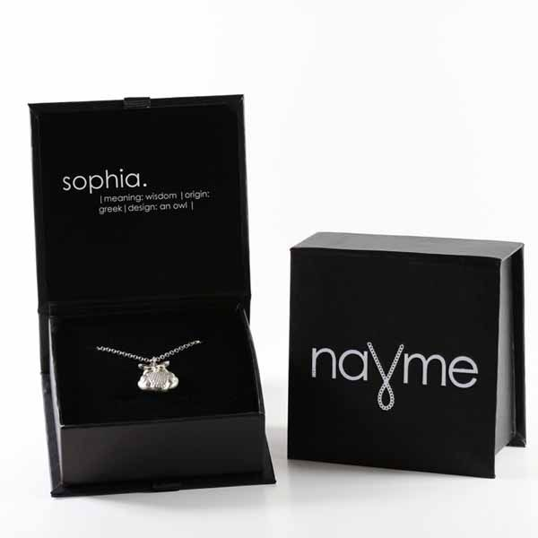 The Nayme Necklace - love this for women.  Perfect as a bridesmaid gift.