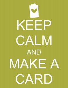 For all the cardmakers and scrapbookers
