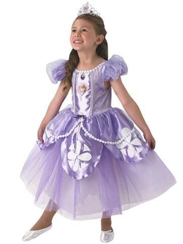 Child: Disney Premium Sofia Costume (from ages 3yrs upto 6yrs)