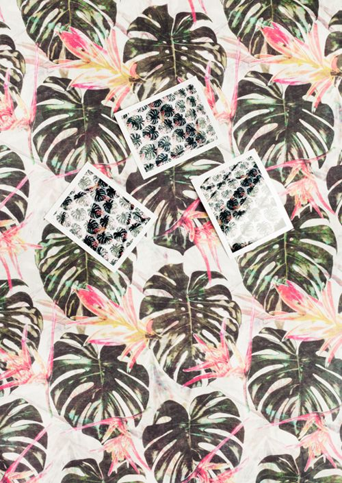Patterns from & Other Stories. Getting tropical.