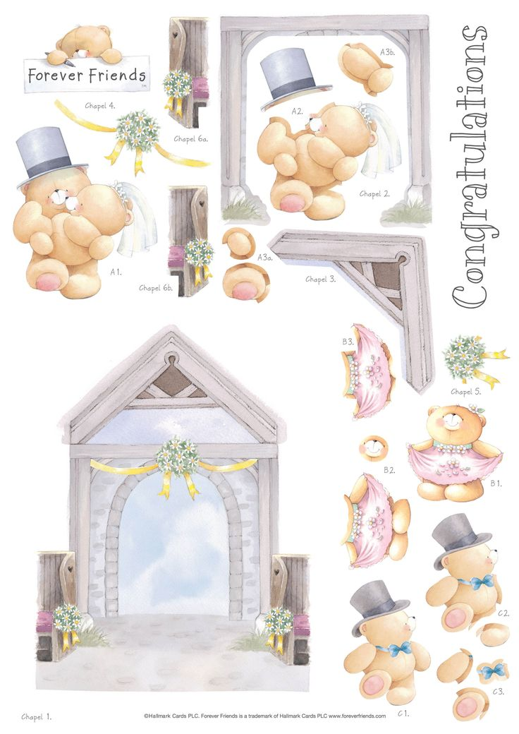 3D Wedding on Pinterest | 3d Sheets, Mariage and Decoupage