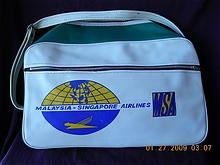 I decided I need to have a vintage airline bag.