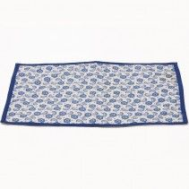 INDIGO FLORAL TABLE MAT