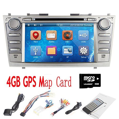 OUKU® 8″ Inches Double-Din 2 DIN In-Dash Car DVD Player for Toyota Camry 2007-2011 with GPS,BT,IPOD,RDS,FM,Touch Screen  http://www.productsforautomotive.com/ouku-8-inches-double-din-2-din-in-dash-car-dvd-player-for-toyota-camry-2007-2011-with-gpsbtipodrdsfmtouch-screen-2/