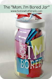 "The ""Mom, I'm Bored Jar"" for summer!"