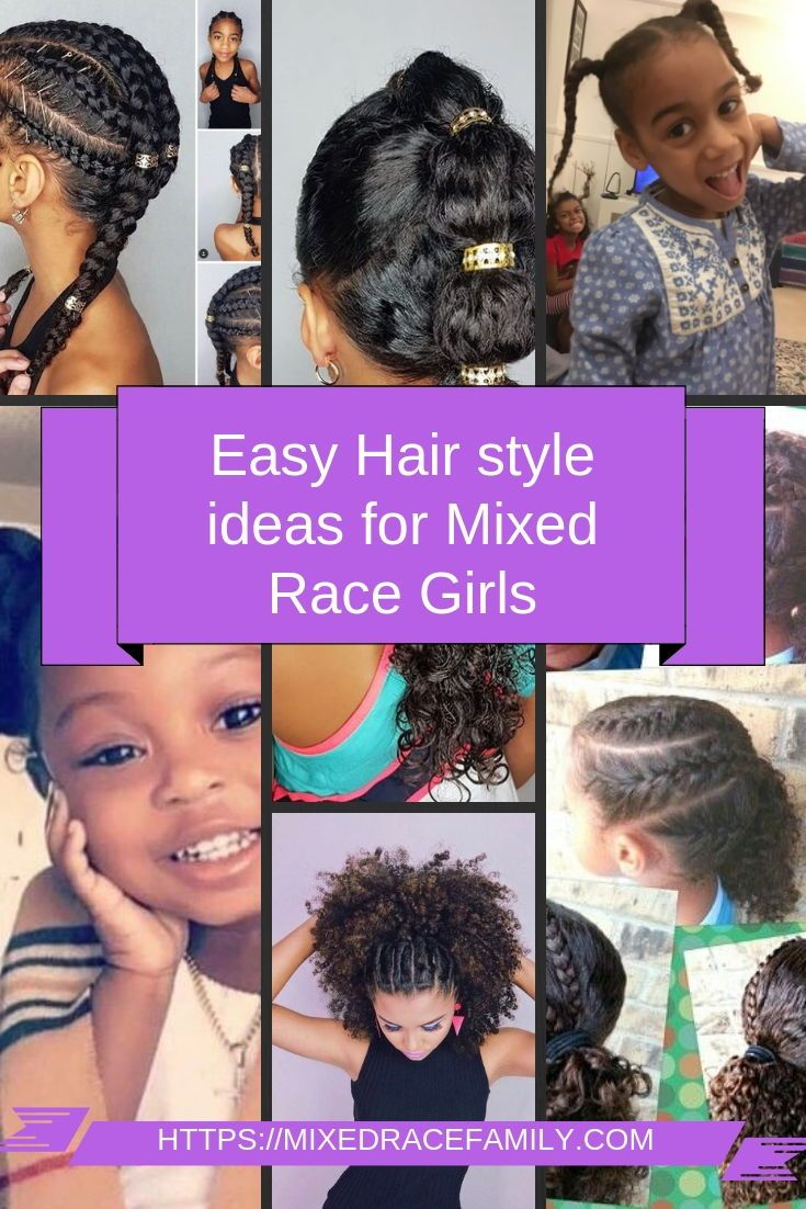 Simple Curly Mixed Race Hairstyles For Biracial Girls Mixed Up Mama Mixed Race Hairstyles Kids Curly Hairstyles Mixed Curly Hair