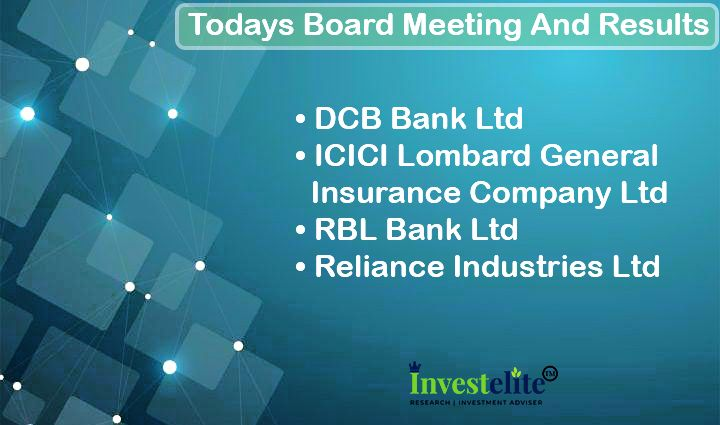 Today S Results And Board Meeting Investelite Research Dcbbank