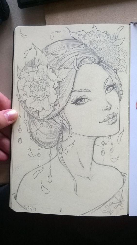 Summer Geisha by Sabinerich.deviantart.com on @deviantART www.SeedingAbundance.com http://www.marjanb.myShaklee.com: