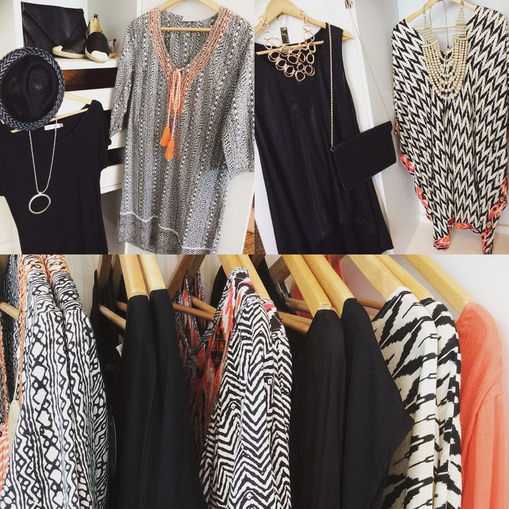 New season Holiday collection.  #100%cotton #print #black #orange #holidayandco #summer #quinceyjac