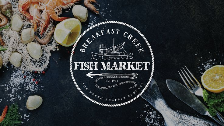 Logofolio ~ Logo Designs & Logo Animations (Bumpers) on Behance Logo Design Graphic Design Typography Fish Market Logo Seafood Bradley Lancaster bradleylancaster.com