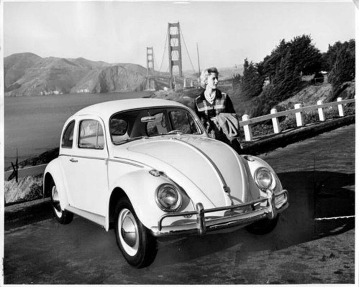 VW beetle 1960s - San Fransisco
