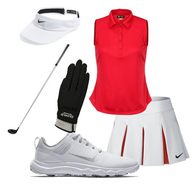 """""""Golf"""" by childofgod0214 on Polyvore featuring NIKE, Greg Norman, women's clothing, women, female, woman, misses and juniors"""