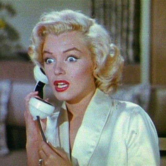 "In Gentlemen Prefer Blondes(1953), one of the films in which Monroe portrayed a sexually attractive and naïve ""dumb blonde""."