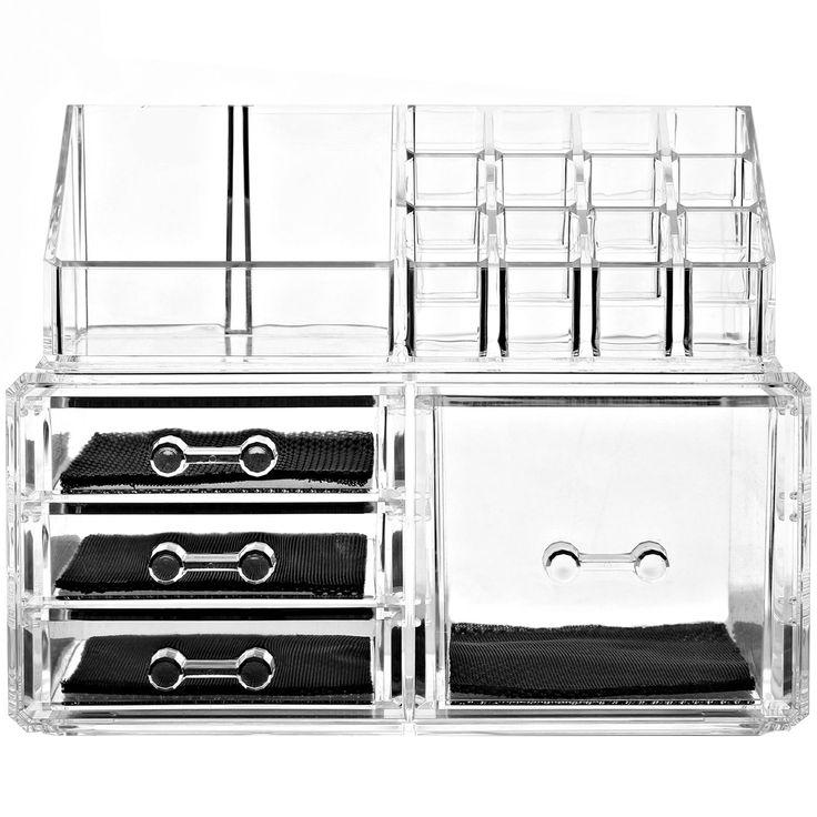 Acrylic Display Boxes 2 Piece Bathroom Accessory Set