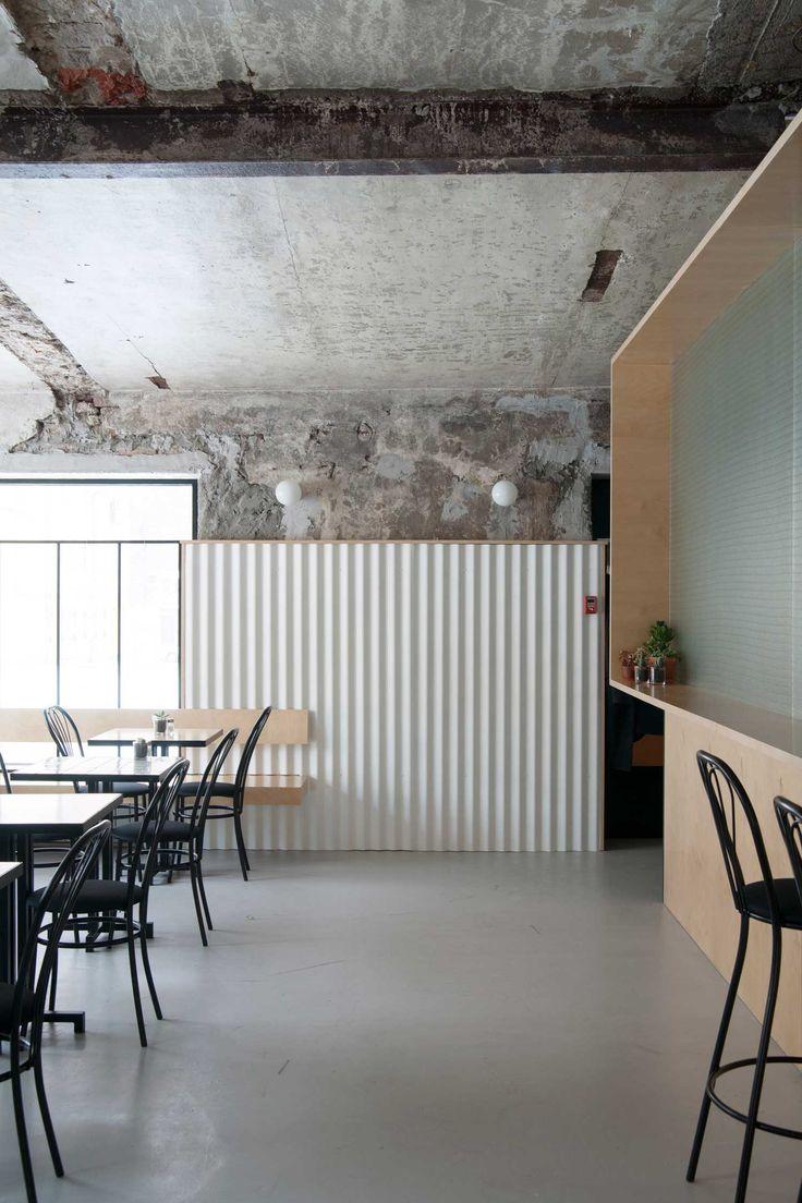 DIZENGOF99 Cafe Moscow By Crosby Studios U0026 Valya Zaytseva | Yellowtrace