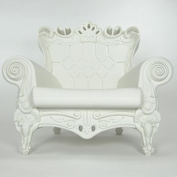 Still love these Queen of Love lawn chairs, but at $738 on sale, they're still ridiculously overpriced plastic.