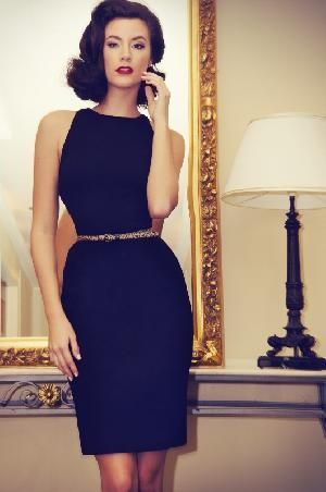 Classic, stylish and elegant is the ultimate in Little Black Dresses, Chi the Label's Take Charge Dress. The sleeveless racerback style is flattering on all body shapes and accentuates the shoulders. Nip in the waist with a skinny waist belt and every sassy woman who wears this knee length dress will exude the coveted hourglass shape. http://www.byariane.com.au/Chi-Take-Charge-Dress