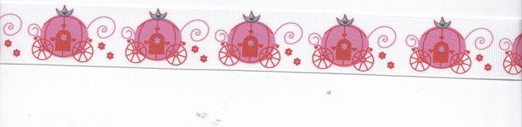 Grosgrain Princess Carriage Ribbon - 5yards