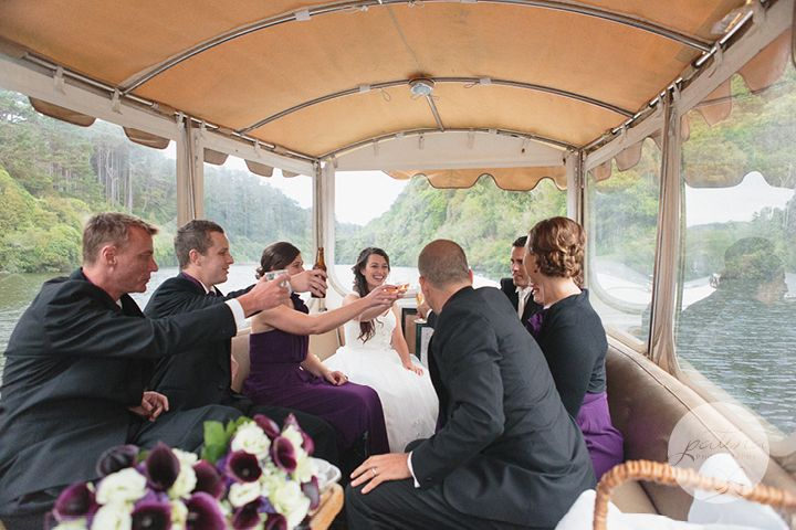 Tamsyn and Chris's relaxed wedding at Zealandia. Photos by Patina Photography.