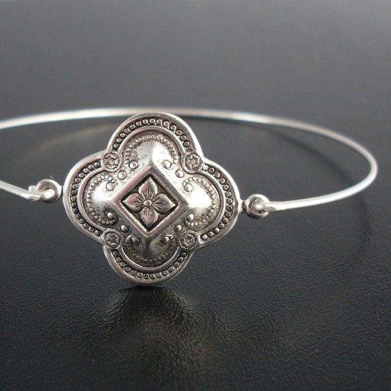Medieval Jewelry Theme, Kaivana, Silver, Bohemian Jewelry, Stack Bangle Bracelet, Bohemian Stack Bracelet, Stacking, Bohemian Bracelet
