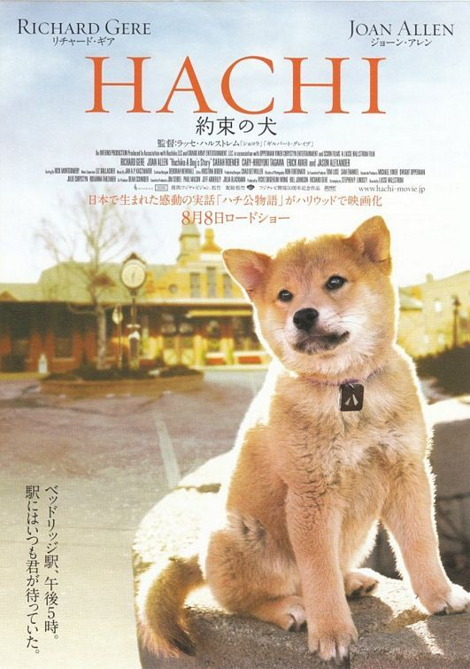 Hachiko. Truly AMAZING! Cried buckets!........... This Is Truly A Movie  Or The Book You Don't Want To Miss....