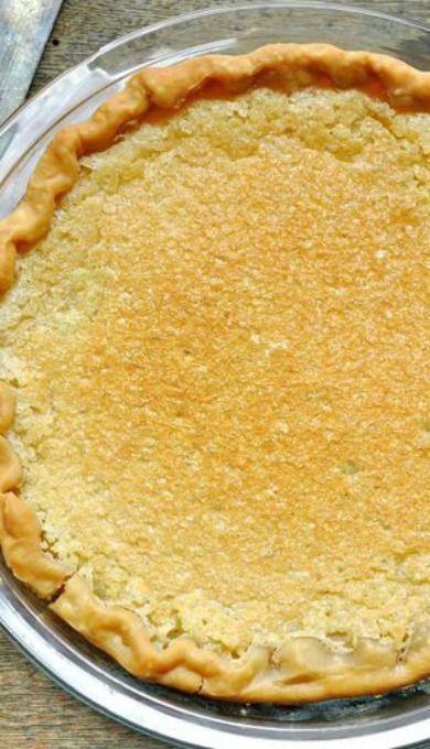 Vinegar Pie                                                                                                                                                                                 More