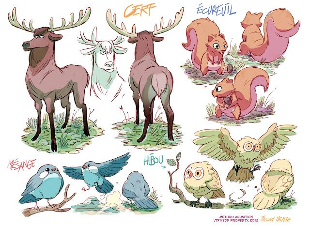 fablog: R5obin Hood, Mischief in Sherwood.4.Créatures et animaux.