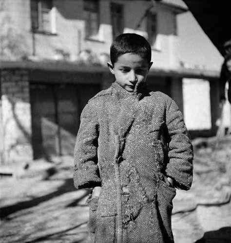Πορτραίτο αγοριού. 1945-1947 Βούλα Θεοχάρη Παπαϊωάννου