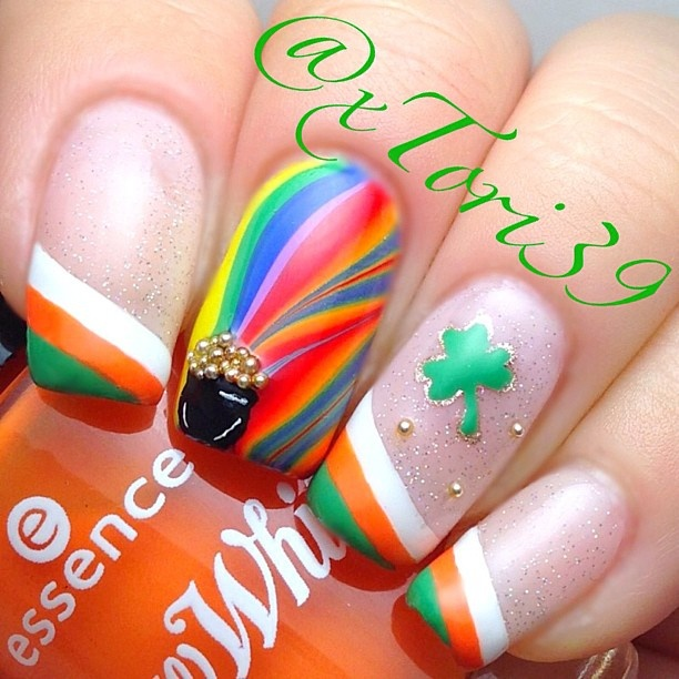 127 best st patricks day nail design images on pinterest st patricks day by intraordinary see more xtori39 prinsesfo Gallery