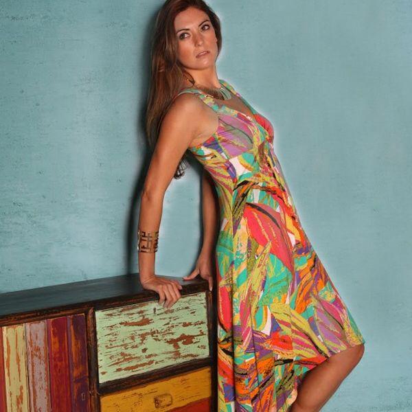 Estampados Tropicales en colores entretenidos.  #wados