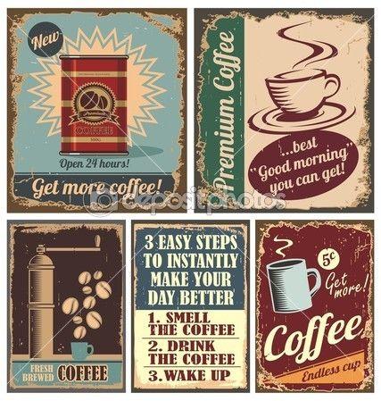 Café Vectores de stock libres de derechos | Depositphotos®