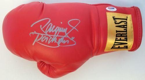 Manny Pacman Pacquiao Signed Red Everlast Boxing Glove COA HOF Y87214 - PSA/DNA Certified - Autographed Boxing Gloves @ niftywarehouse.com #NiftyWarehouse #PacMan #VideoGames #Pac-man #Arcade #Classic