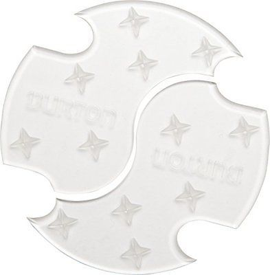 Stomp Pads 159184: Burton Split Mat Snowboard Stomp Pad Clear BUY IT NOW ONLY: $31.97