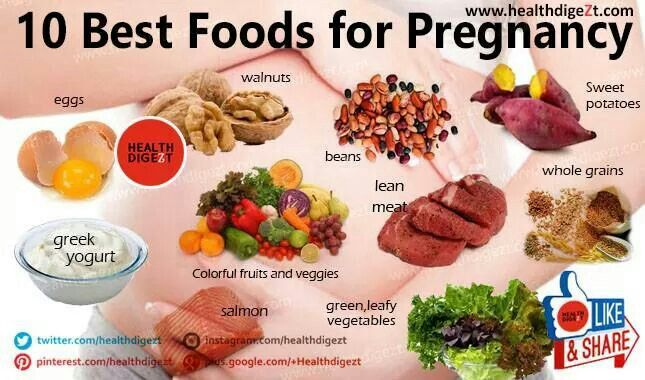 What Are Some Healthy Foods To Eat While Your Pregnant